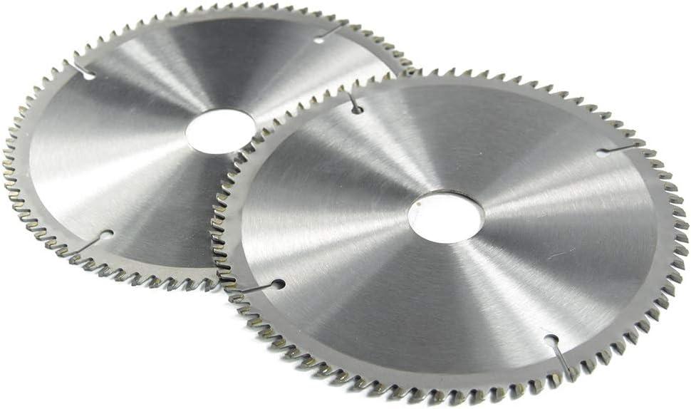 AGiao Cutting disc XCAN 1pc 185/210/250mm 60T/80T TCT Wood Circular Saw Blade Wood Cutting Disc Carbide TCT Saw Blade Versatile (Color : 1pc 210x2.4x30x80T) 1pc 250x2.8x30x80t
