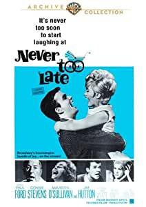 never too late paul ford connie stevens maureen o 39 sullivan jim hutton jane. Black Bedroom Furniture Sets. Home Design Ideas