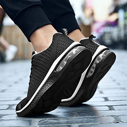 Ginnastica Da Sneakers Axcone Nero1 Basse Sport Respirabile Sportive Basket Donna Outdoor Fitness Scarpe Running Uomo qraYwYtI