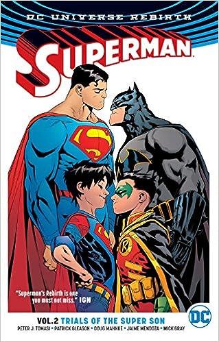 5b8c397d5ab Superman TP Vol 2 Trial Of The Super Sons Rebirth Superman Rebirth  Amazon. es  Peter J. Tomasi  Libros en idiomas extranjeros