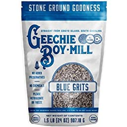 Geechie Boy Mill Heirloom Sea Island Blue Grits 1.5 lbs