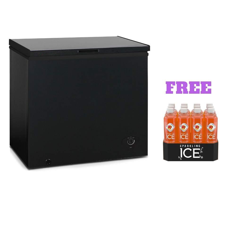 Arctic King Freezer (7.0 cu ft, Black with Free)