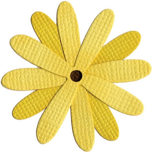 (QUICKUTZ We R Memory Keepers RS-0376 2 by 2-Inch Dies, 4 Petal Daisy)