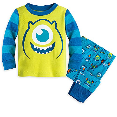 [Disney Monsters Inc. PJ PALS Pajamas for Boys Size 6-9 MO] (Baby In Monsters Inc)