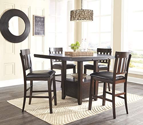 home, kitchen, furniture, game, recreation room furniture, home bar furniture,  barstools 3 discount Signature Design by Ashley - Haddigan Counter Barstool - Set deals