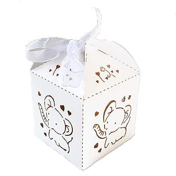 Amazon.com: Paquete de 50 cajas de regalo para fiesta de ...
