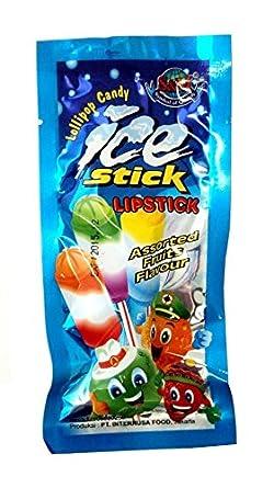 Amazon やおきん アイススティックローリーポップキャンディ 10g60袋