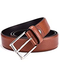 Belts for Men - Men's Italian Leather Belt for Business Dress and Casual Jeans with Gift Box 35mm