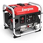 Energizer EZG1300, 1000 Running Power 1300 Peak Power, Portable, Heavy Duty, Gas Powered Generator, CARB Approved