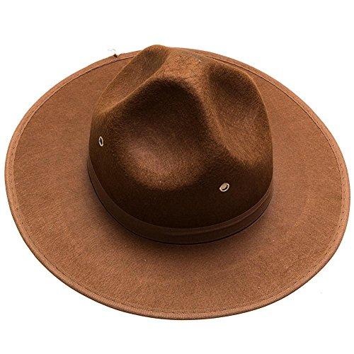 Brown Ranger Hat (Hat Mountie Hat)