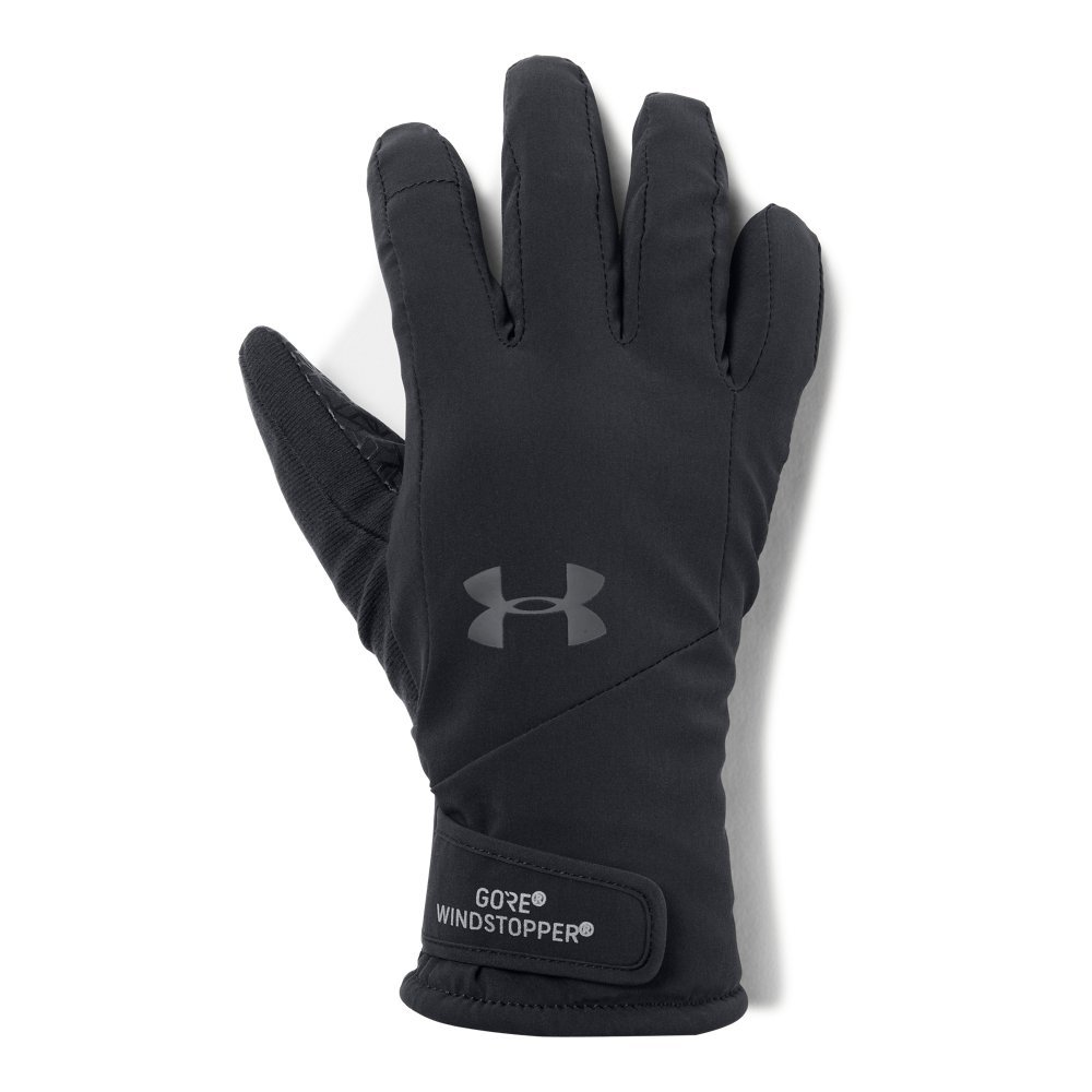 Under Armour Women's Windstopper Glove, Black (001)/Graphite, Small