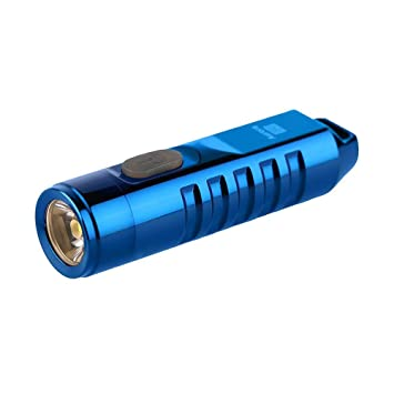 Camping & Outdoor selected-lights Rovyvon A2 Mini USB Edelstahl aufladbare Schlüsselbundlampe