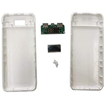 Homyl 20000mAh Dual USB Cargador de Movíl Funda Banco de ...