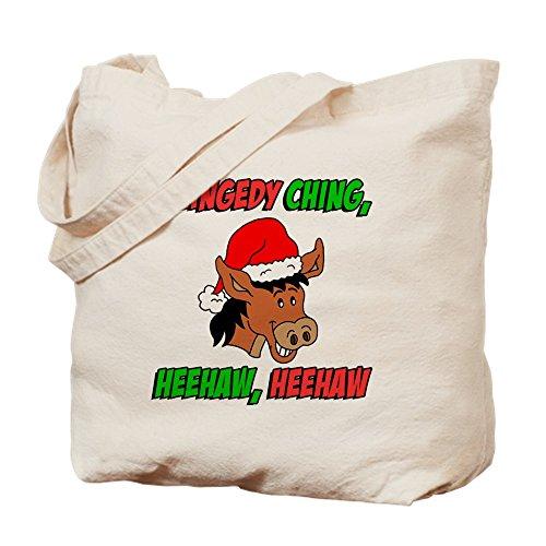 CafePress–Italienisch Weihnachten Esel–Leinwand Natur Tasche, Reinigungstuch Einkaufstasche Tote S khaki