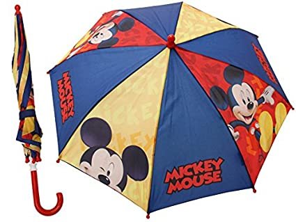 Paraguas Disney Mickey Mouse Paraguas Infantil niño Micky Maus Ø 80cm