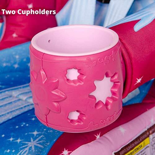 51AcSlcH3ML - KidsEmbrace 2-in-1 Harness Booster Car Seat, Disney Princess Cinderella, Pink