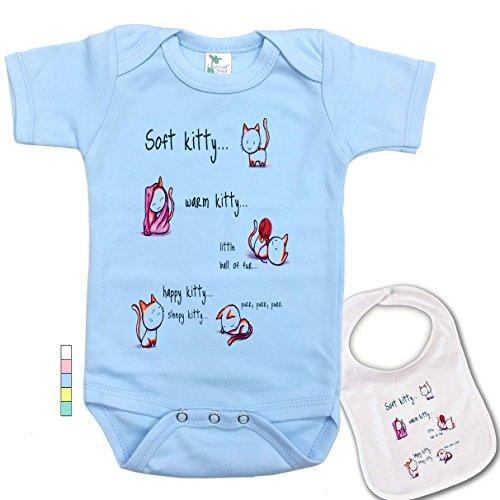 (Soft Kitty .Big Bang Theory Custom Baby Bodysuit Onesie & Matching)