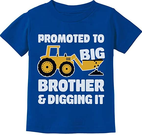 Going to Be Big Brother Gift for Tractor Loving Boys Toddler//Infant Kids T-Shirt