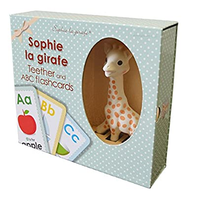 Sophie La Giraffe Teether and Flashcards Set : Baby