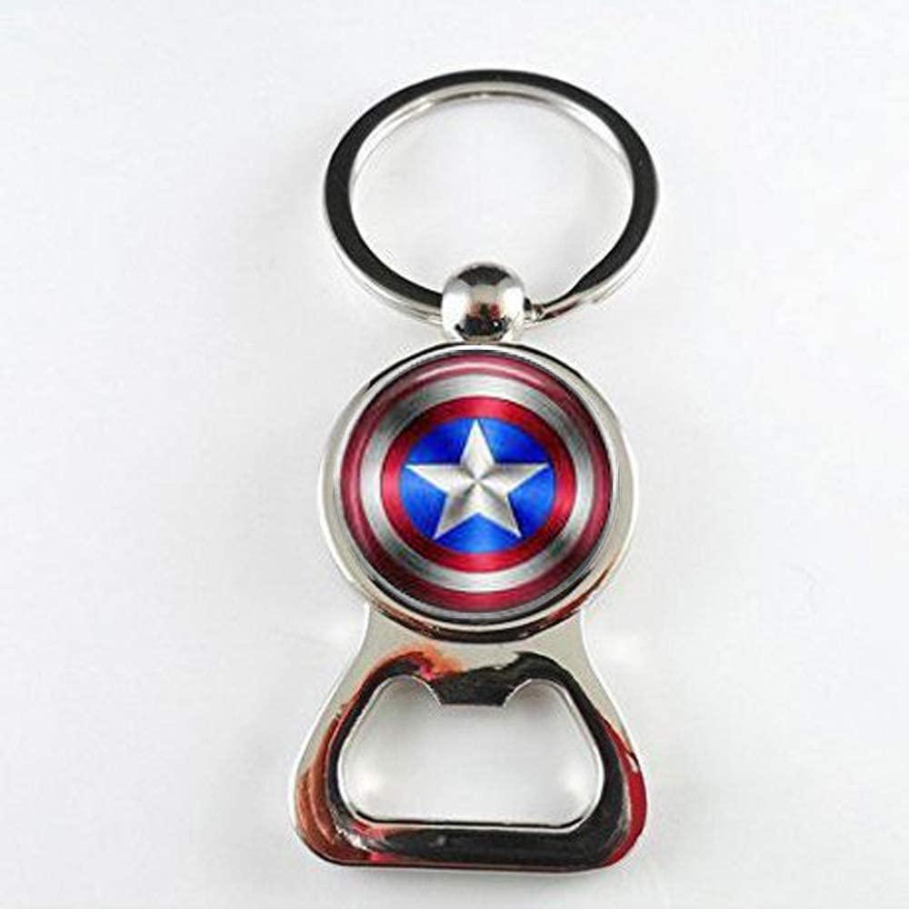 Marvel Avengers Captain America Multi Tool Keyring Bottle Opener Screwdrivers