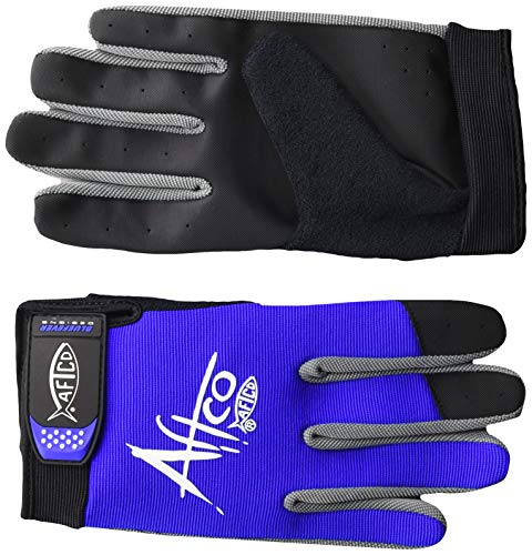 Aftco GLOVEULBLUE Utility Glove,Large