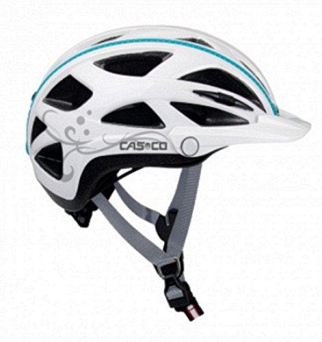 Casco Erwachsene Helm Active-Tc Femme, Weiß, 57-61cm, 15.04.0816.L