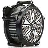 Motorcycle air cleaner for harley dyna fatbob air