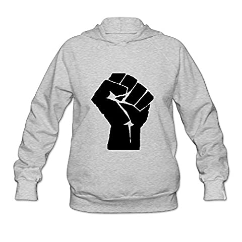 DVPHQ Women's High-quality Black Power Sweater Size S Ash (Platinum Brand Iphone 6 Plus Case)