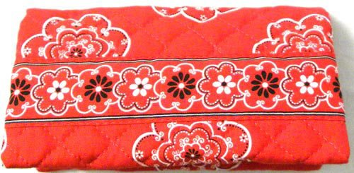 Quilted Checkbook Cover - 9