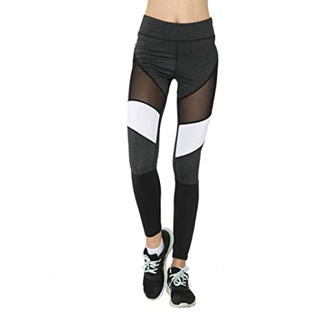 SYPNB Leggings de Moda para Mujer Cadera Sexy Pantalones de ...