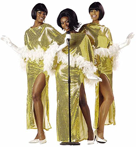 Diva Motown Singer Costume (Size: Large (Motown Diva Adult Womens Costumes)