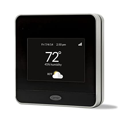 Carrier Cor 7-Day Programmable Wi-Fi Thermostat with Energy Reports Model 21026670