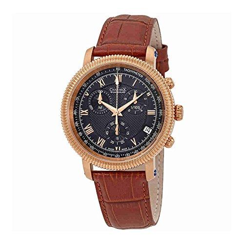 Charmex President II Chronograph Black Dial Mens Watch 2988
