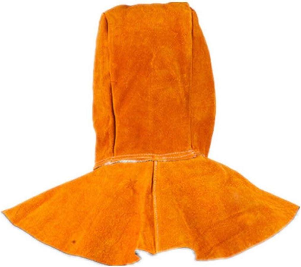 Capucha de piel de vacuno Capucha de piel de vacuno con cuello Cubierto Cubierta protectora