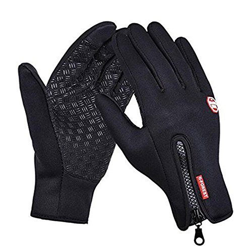 Unisex Touch Screen Multi Functional Gloves for Smartphone, Bestie-Gear Windproof Coldproof Ski Outdoor Cycling Motorcycle Leisure Camping Recreation Thermal Full Finger Gloves(M)