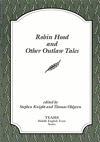 Robin Hood and Other Outlaw Tales (TEAMS Middle English Texts, Kalamazoo)