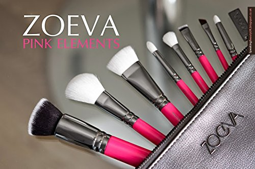 Brushes Makeup Cosmetics Tool Pink Elements Classic Bag Kit Set Professional Best Seller Organizer Bag Travel Small Large for Girl Real Techniques Eye Full Bag Complete Eye ZOEVA Set 8 Face Brushes. by ZOEVA