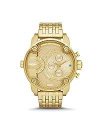 Diesel Men's DZ7287 The Daddies Series Analog Display Analog Quartz Gold Watch