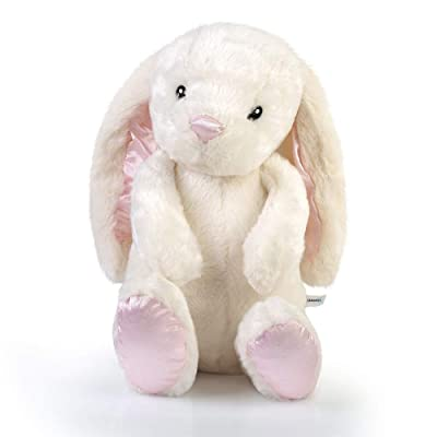 Canopus Stuffed Bunny, Bunny Plush, Bunny Stuffed Animals, Stuffed Rabbit, Plush Bunny, Rabbit Stuffed Animal, Stuffed Bunny Rabbit with Floppy Ears, Easter Bunny, Cute Stuffed Animals – 17 inc: Toys & Games