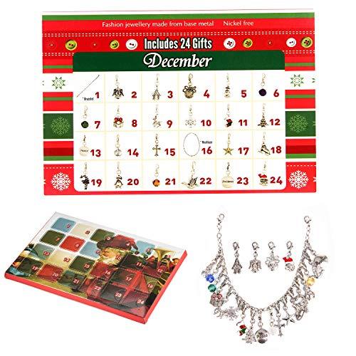 [해외]Countdown to Christmas Advent Calendar Fashion Jewelry Set Advent Calendars for Girls / Countdown to Christmas Advent Calendar Fashion Jewelry Set Advent Calendars for Girls