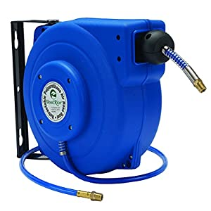 retractable air hose reel retractable 39 polyurethane air hose reel air tool hose 29036