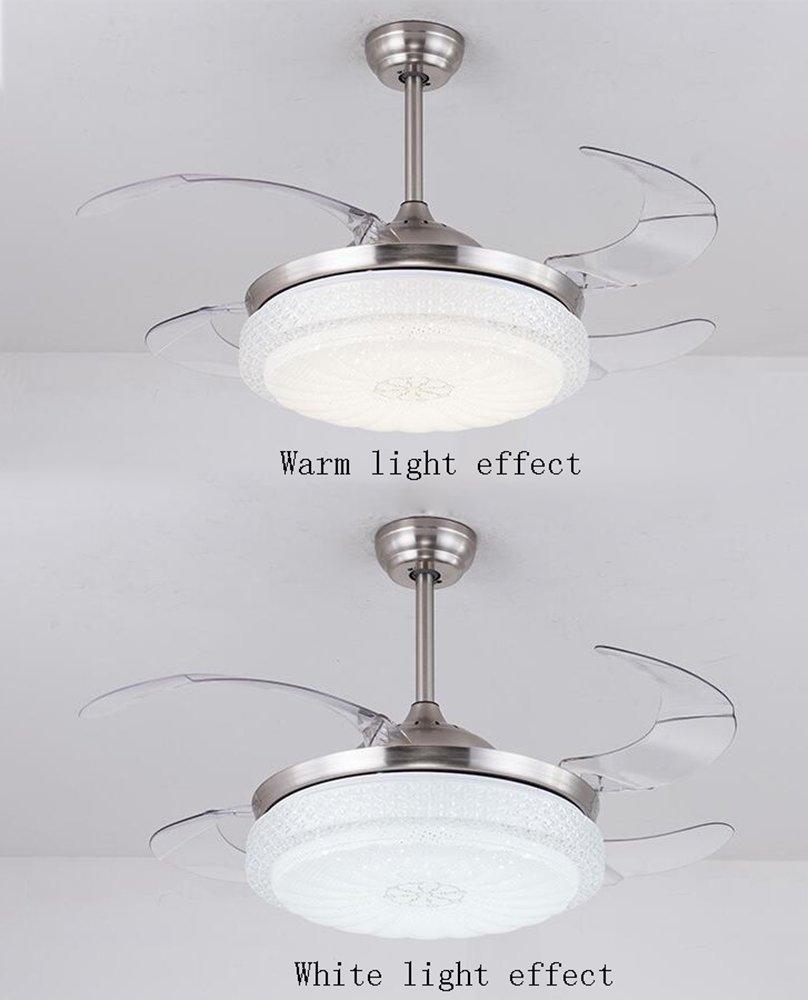 Ventilador de Techo silencioso de 42 Pulgadas con luz de ...
