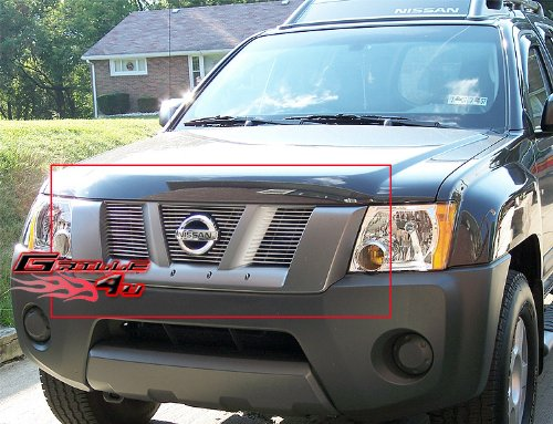 APS Compatible with 2005-2008 Nissan Xterra Billet Grille Insert S18-A03466N ()