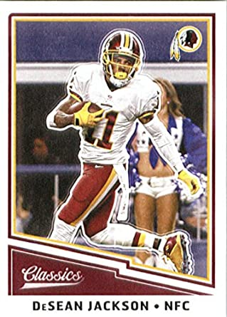 2017 Panini Classic  75 Desean Jackson Washington Redskins Football Card bf6e60e35