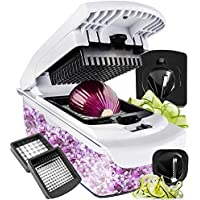 Vegetable Chopper Spiralizer Vegetable Slicer - Slicer...