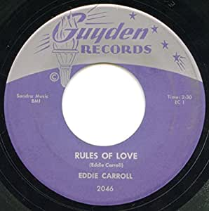 Rules Of Love / Gone From Me