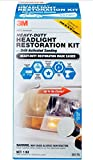 3M 39175 Heavy Duty Headlight Restoration Kit (with...