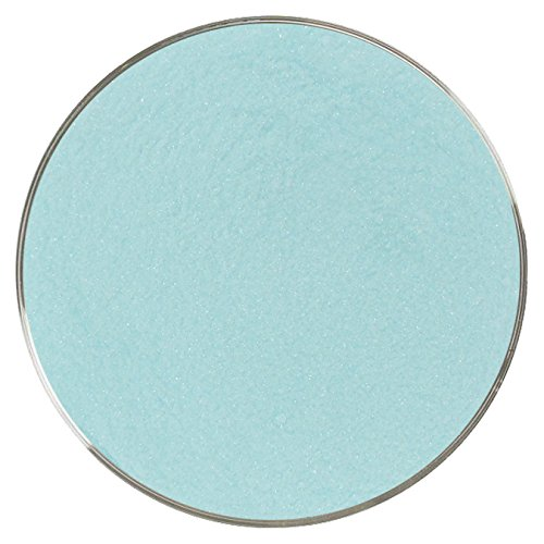 - Limited Edition Teal Green Transparent Powder Frit - 96COE - 4oz - Made from System 96 Glass