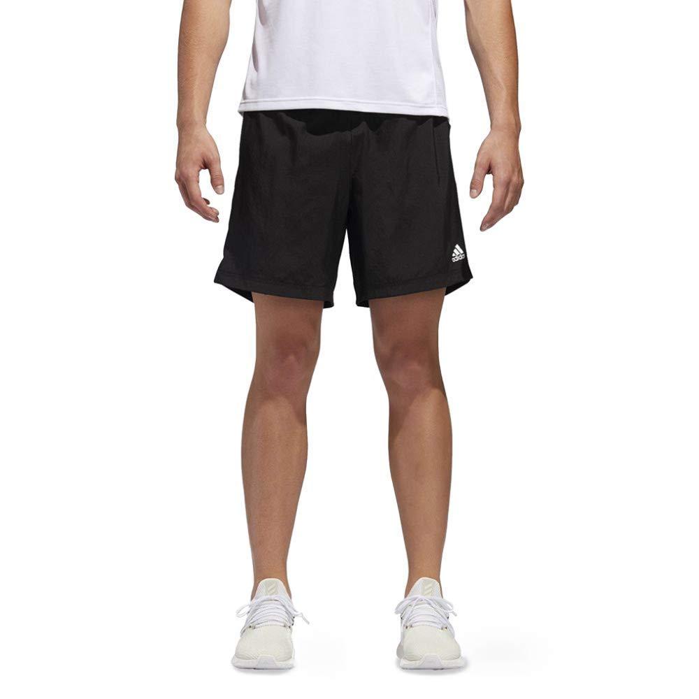 adidas Men's Own The Run Shorts, Black, Large