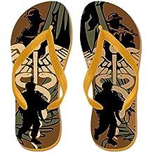 CafePress - Us Military Medicine Combat - Flip Flops, Funny Thong Sandals, Beach Sandals